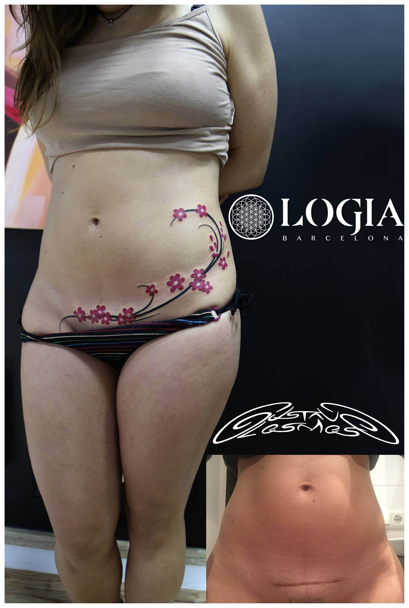 Tatuajes en zonas íntimas para mujeres - Logia Tattoo