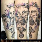 Tatuajes de planetas: una fuente universal de inspiración