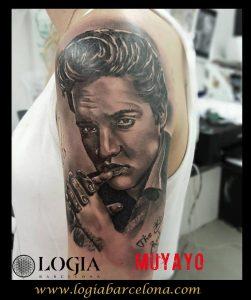 tatuajes artistas Elvis Presley