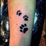 Tatuajes de huellas de animales