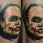 El Joker lucirá nuevos tatuajes