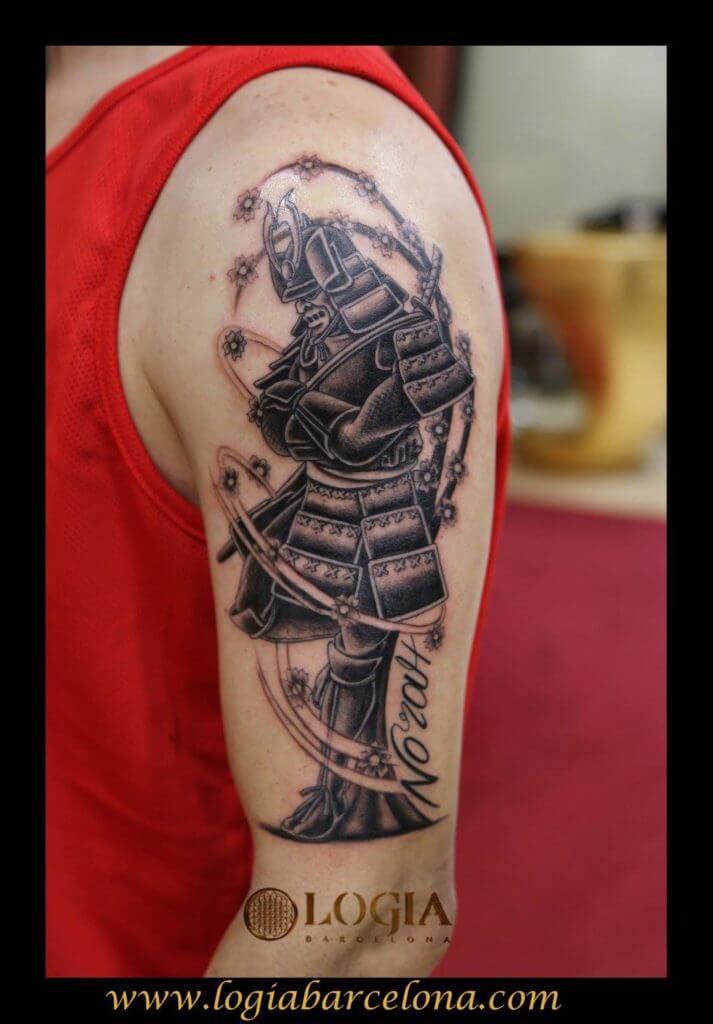 Tatuajes De Samurais Tatuajes Logia Barcelona