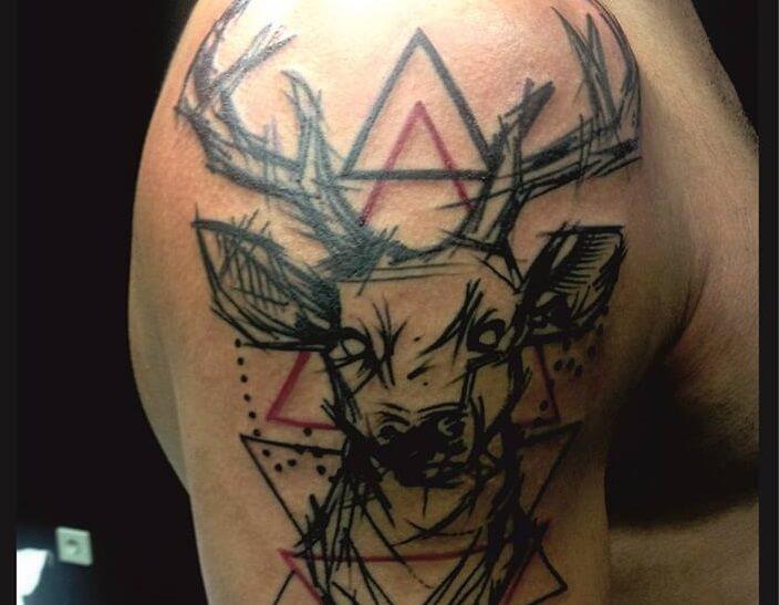 Tatuajes De Ciervos Tatuajes Logia Barcelona