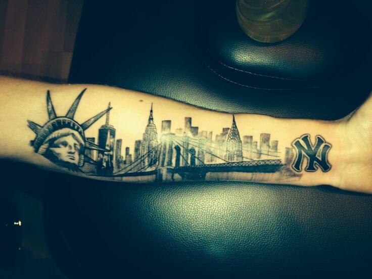 Tatuajes de Nueva York