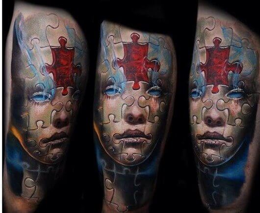 Tatuajes De Puzzles Tatuajes Logia Barcelona