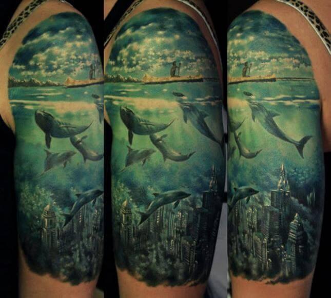 Tatuajes De Delfines Tatuajes Logia Barcelona