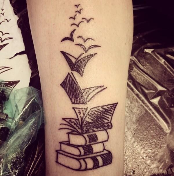 Tatuajes De Libros Tatuajes Logia Barcelona