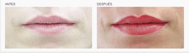 Micropigmentación labial