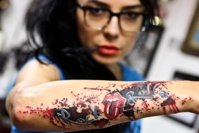 Tatuajes rockeros