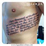 Tatuajes en otra lengua: frases en inglés