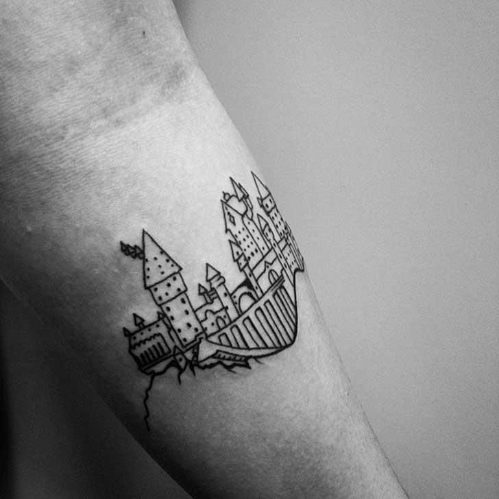 Tatuajes Harry Potter Tatuajes Logia Barcelona