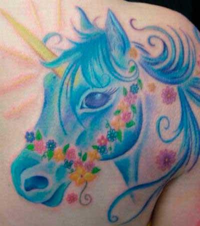 Tatuajes De Unicornios Tatuajes Logia Barcelona