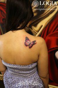 Tatuajes de mariposas 3d