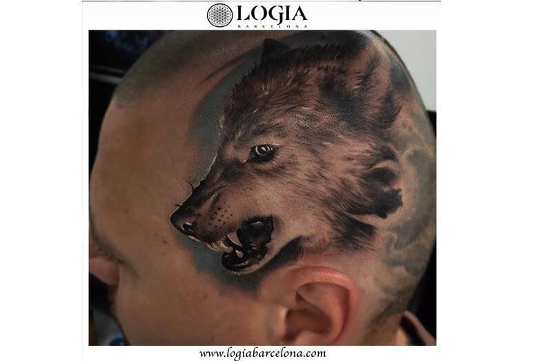 Tatuajes en la cabeza