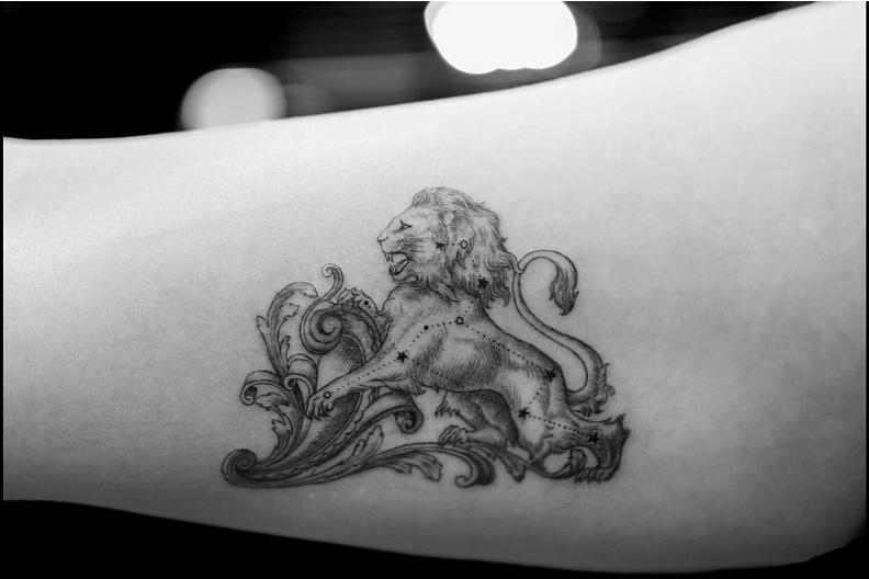 Tendencias en tatuajes: una sola aguja