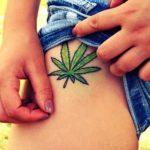 Tatuajes de la marihuana