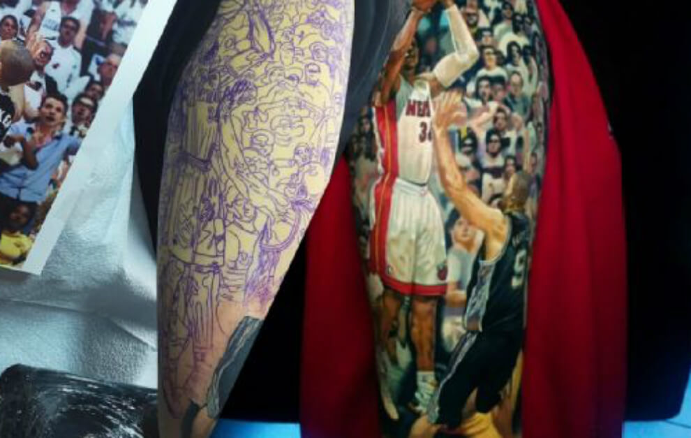 Será Este El Mejor Tatuaje Del Mundo Tatuajes Logia Barcelona