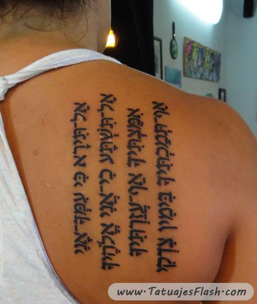 Tatuaje Hebreo Y Significado Sfb