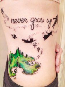 tatuajes de Peter Pan