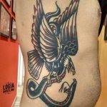 Tatuaje tradicional americano