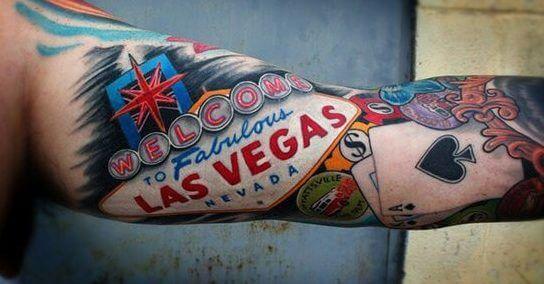 Tatuajes De Las Vegas Tatuajes Logia Barcelona