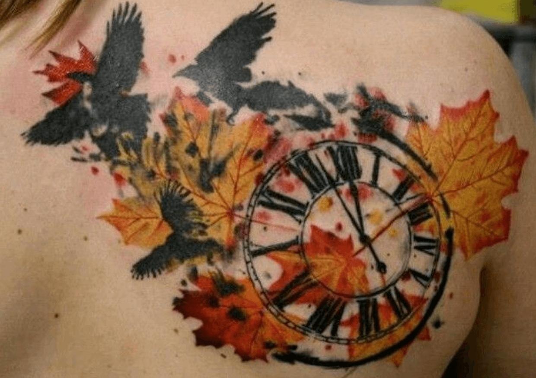 Tatuajes De Otoño Tatuajes Logia Barcelona