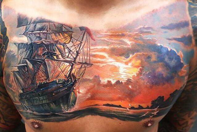 Tatuajes De Atardeceres Tatuajes Logia Barcelona
