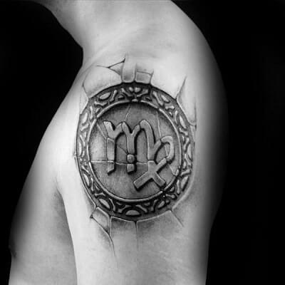 Los tatuajes de Virgo