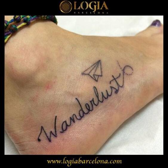 Tatuajes De Espiritu Wanderlust Tatuajes Logia Barcelona