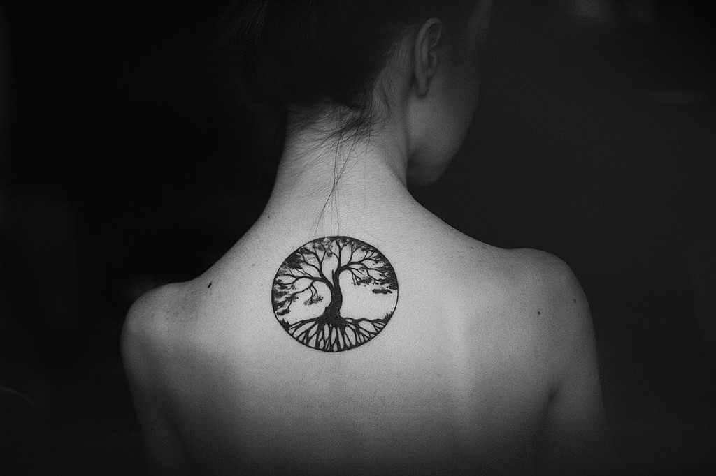 El tatuaje del árbol de la vida