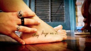 tatuajes pie