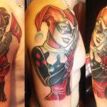 Tatuaje de Harley Quinn