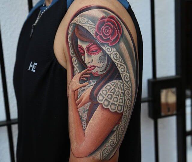 Tatuajes de catrinas mexicanas tatuajes logia barcelona for Tattoos mexicanos fotos