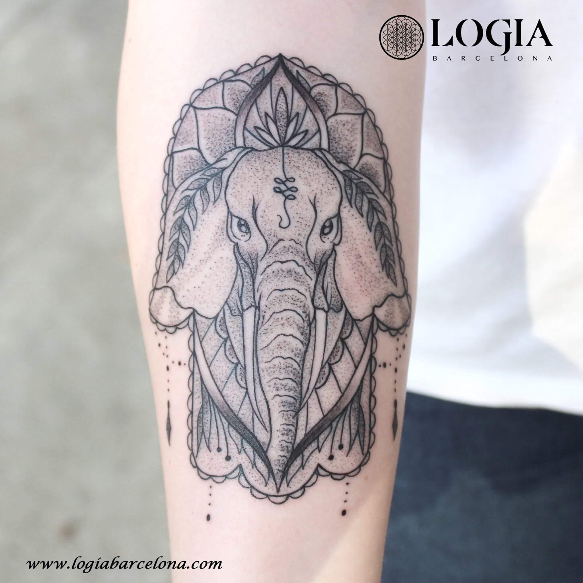 Tatuajes De Elefantes Tatuajes Logia Barcelona