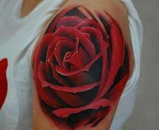 Tatuarse Una Rosa Roja Tatuajes Logia Barcelona
