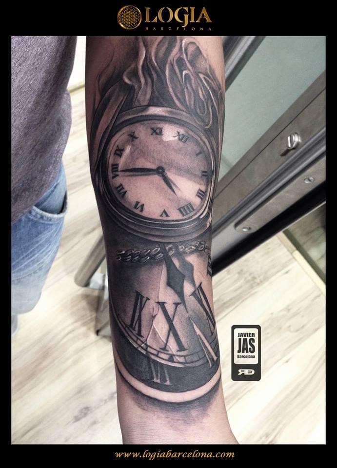 Tatuajes Del Tiempo tatuarse el tiempo -   tatuajes logia barcelona