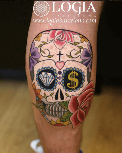 Tatuajes De Calaveras Tatuajes Logia Barcelona