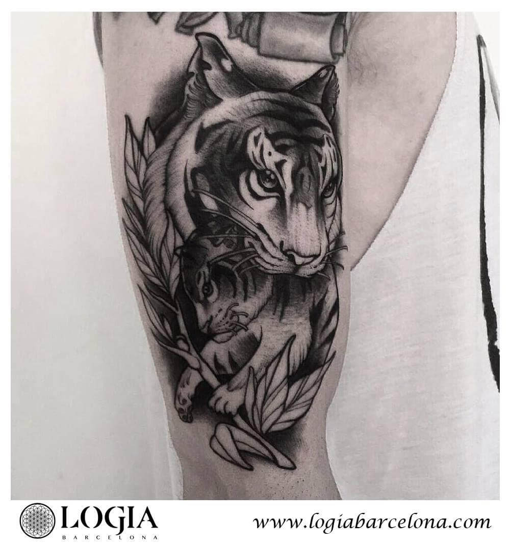 Tatuajes De Tigres Tatuajes Logia Barcelona