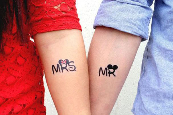 Tatuajes De Mickey Y Minnie Mouse Tatuajes Logia Barcelona