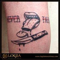 Tatuajes Con Letras Mayúsculas Tatuajes Logia Barcelona