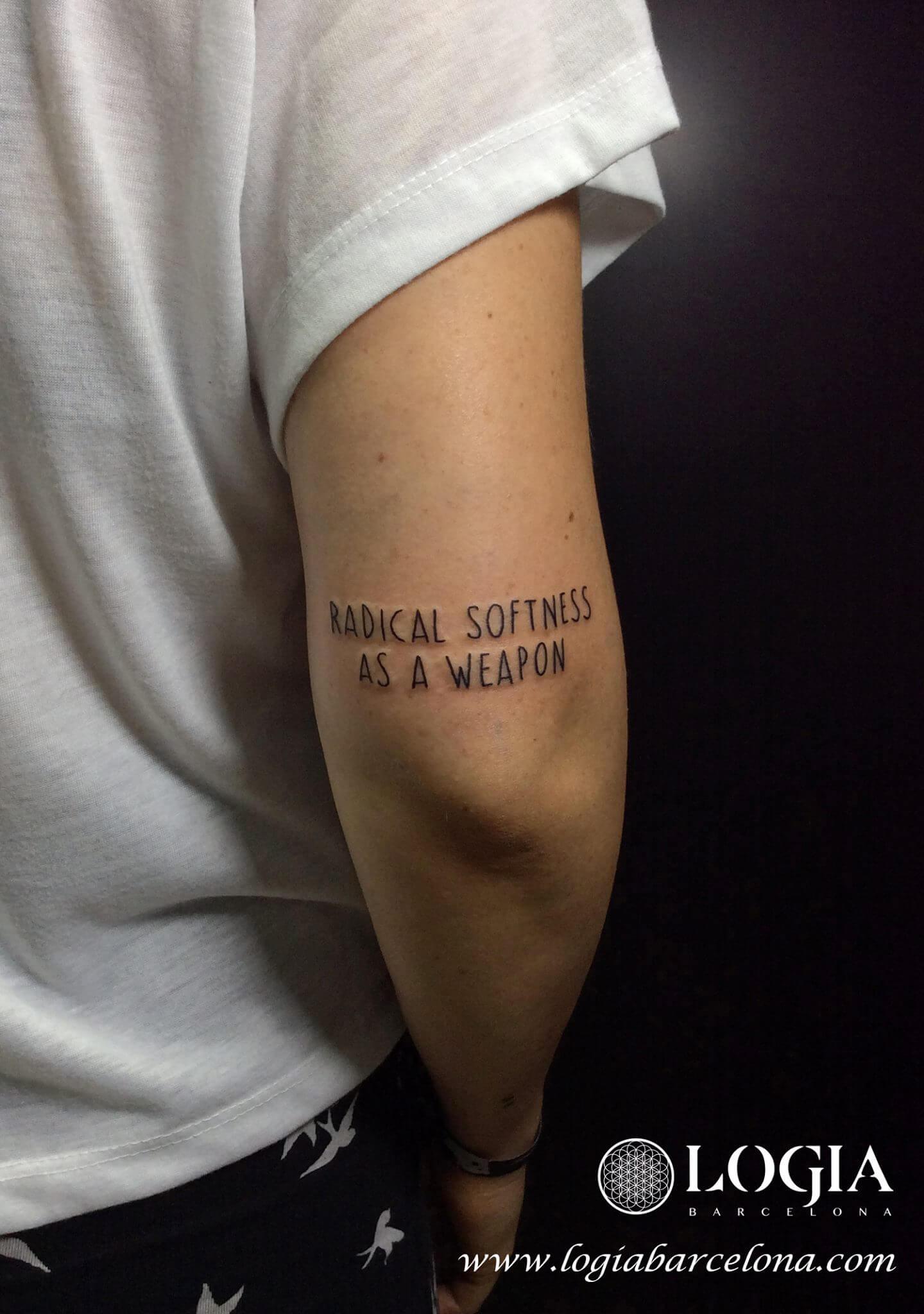 Tatuajes De Palabras O Frases Tatuajes Logia Barcelona