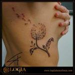 Tatuajes de diente de león y sus numerosos significados