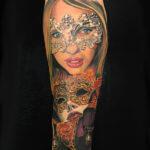 Tatuajes Carnaval de Venecia