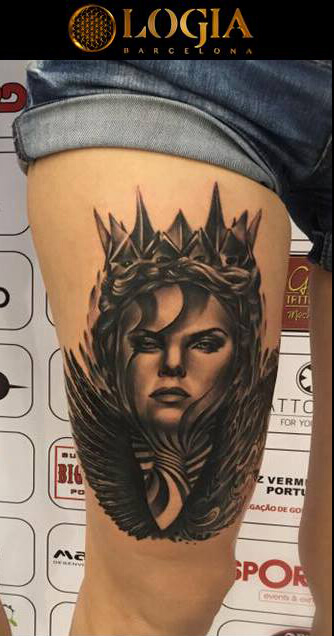 Tatuajes de película (Charlize Theron)