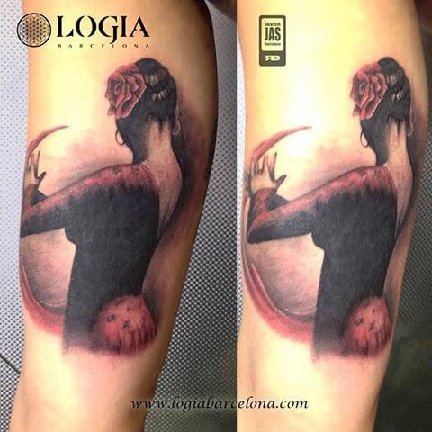 La pasión por el baile plasmada en un tatuaje