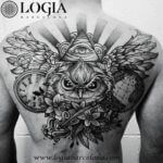 La religión y los tattoos: Los sacerdotes con un sol sobre el muslo
