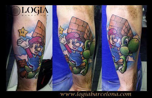 Tatuajes para gamers