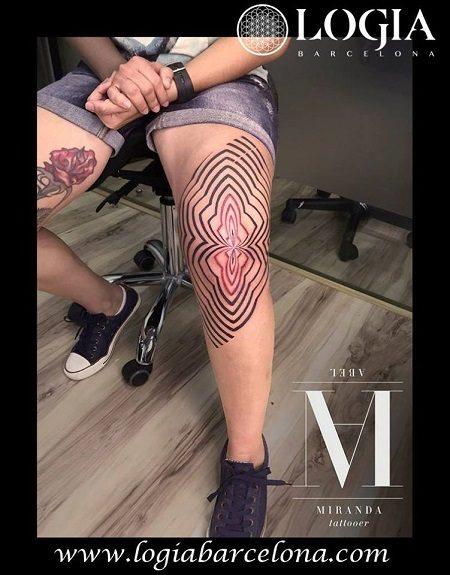 Tatuajes inspirados en el movimiento Op Art