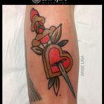 El padre de los tatuajes old school
