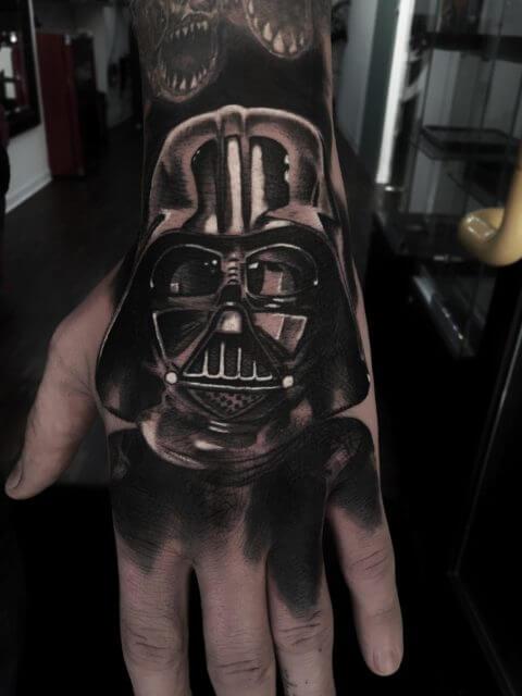 Tatuaje de Darth Vader